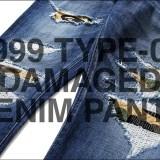 A BATHING APEより上質な生地と熟練の職人による丁寧な縫製、加工技術が光るMADE IN JAPANを体感できるデニムパンツ「1999 TYPE-02 DAMAGED DENIM PANTS」が7/29発売 (ア ベイシング エイプ)