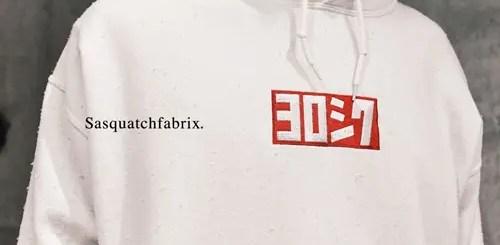 Sasquatchfabrix YOROSHIKU DAMAGE PARKA (サスクワァッチファブリックス ヨロシク ダメージ パーカー)
