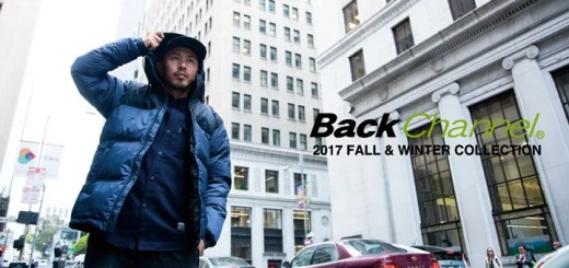 Back Channel 2017 FALL/WINTER COLLECTIONが8/11から展開!ティザームービーも公開! (バックチャンネル)