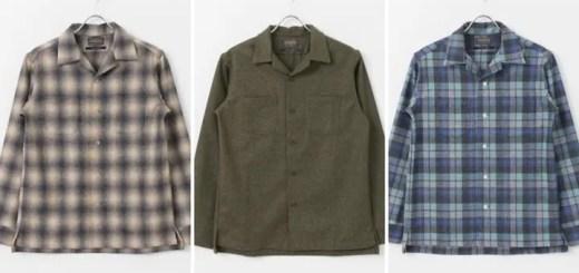 PENDLETON × URBAN RESEARCH DOORS 別注 オープンカラー シャツが10月上旬発売 (ペンドルトン アーバンリサーチ ドアーズ)