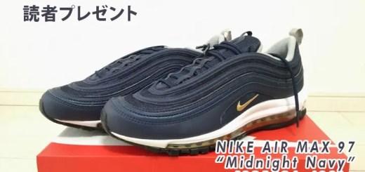 """【プレゼント1名】NIKE AIR MAX 97 """"Midnight Navy/Metallic Gold"""" [921826-400]"""