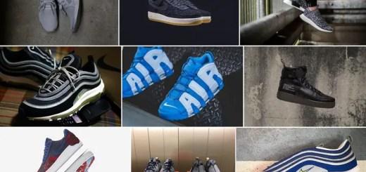 """【まとめ】9/1発売の厳選スニーカー!(NIKE AIR MORE UPTEMPO """"UNC"""")(AIR MAX 97 """"Black/Volt"""" """"Atlantic Blue"""")(adidas Originals NMD_XR1)(LOOPWHEELER NIKE APTARE/ROSHE TWO LW)他"""