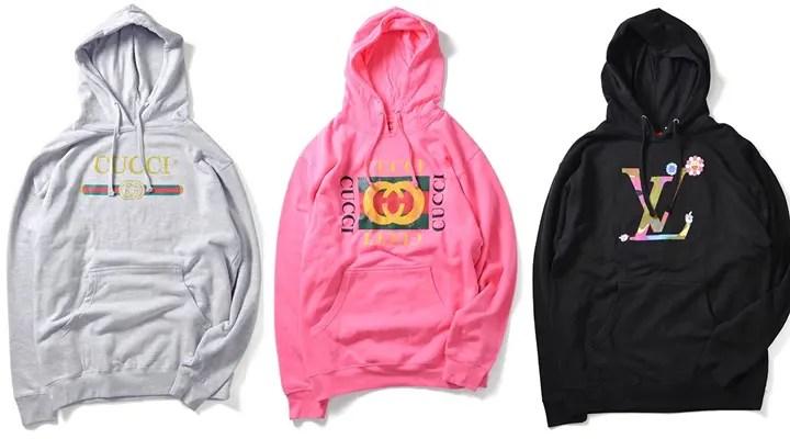 DEADLINEからイタリアの某有名ファッションブランドのロゴをサンプリングしたHOODIEがリリース開始 (デッドライン)