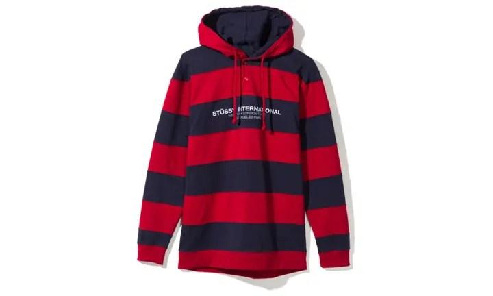 "STUSSY 2017 FALL ""Hooded Stripe Rugby"" (ステューシー 2017年 秋)"