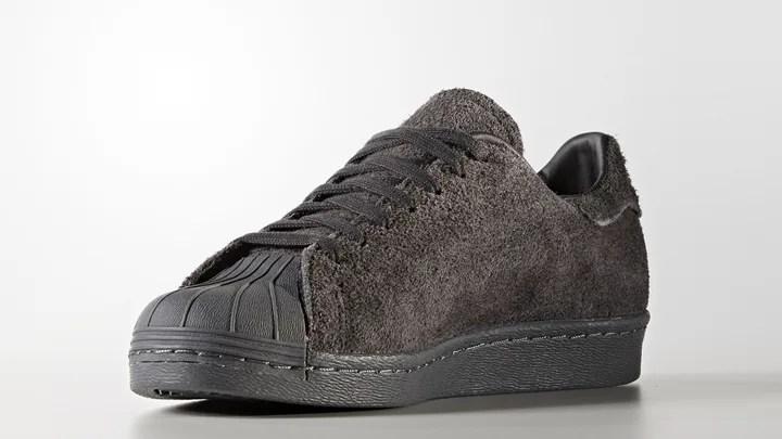 "adidas Originals SUPERSTAR 80s CLEAN ""Utility Black"" (アディダス オリジナルス スーパースター 80s クリーン ""ユーティリティ ブラック"") [BZ0566]"