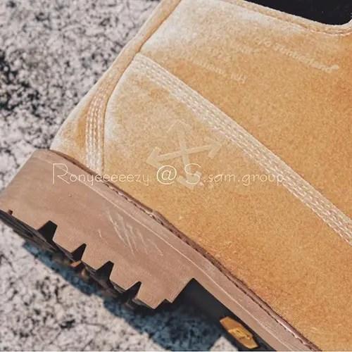 OFF-WHITE C/O VIRGIL ABLOH × Timberland 6inch Premium Boot (オフホワイト ティンバーランド シックスインチ プレミアム ブーツ )