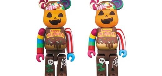 今年のハロウィンはキャンディ&スイーツをデザイン!2017年 ハロウィン限定 ベアブリックが9/27から発売! (HALLOWEEN BE@RBRICK)