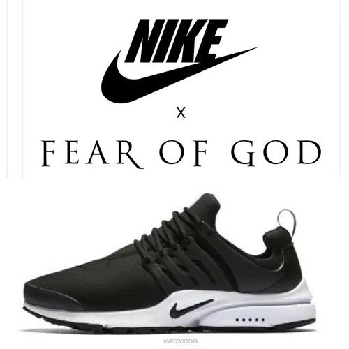 2018年発売!?FEAR OF GOD × NIKE AIR PRESTO (フィア オブ ゴッド ナイキ エア プレスト)
