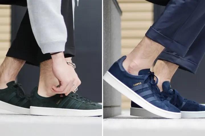adidas Originals/EDIFICE 限定モデル!撥水加工のスエードのアッパーを搭載したCAMPUS 2カラーが11月中旬発売 (アディダス オリジナルス キャンパス)