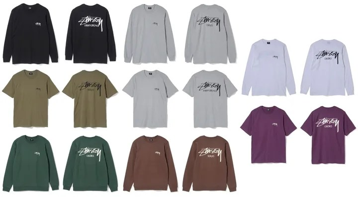 "STUSSY 2017 FALL ""SMOOTH STOCK PACK"" (ステューシー 2017年 秋)"