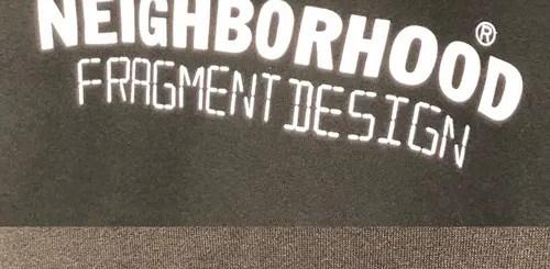 FRAGMENT × NEIGHBORHOOD コラボを現したショットが登場 (フラグメント ネイバーフッド)