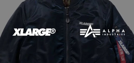 XLARGE × ALPHA INDUSTRIESとのコラボが近日登場 (エクストララージ アルファ インダストリーズ)