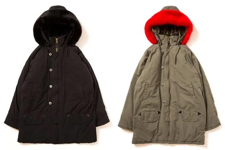 APPLEBUMからボリュームのあるファー付きのフードが印象的な「N-3B」ジャケットが発売 (アップルバム)