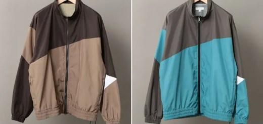 90sテイストのBEAUTY&YOUTH パネル トラックジャケットが11月下旬発売 (ビューティアンドユース)