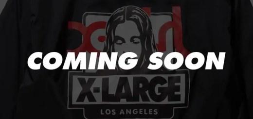 XLARGE/X-girl コラボレーション「XLXG」新作「OG FACE COACHES JACKET」が近日発売! (エクストララージ エックスガール)