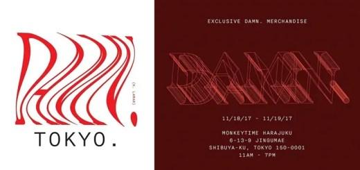 【限定アイテムも?】monkey time HARAJUKUにてケンドリック・ラマー「THE DAMN.POP UP」が11/18~11/19まで開催 (モンキータイム Kendrick Lamar)