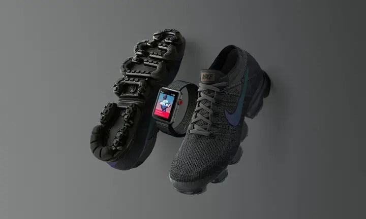 """MidNight Fog""カラーのNIKE × Apple Watch Series 3 GPS + CELLULARが海外11/14発売 (ナイキ アップル ウォッチ)"