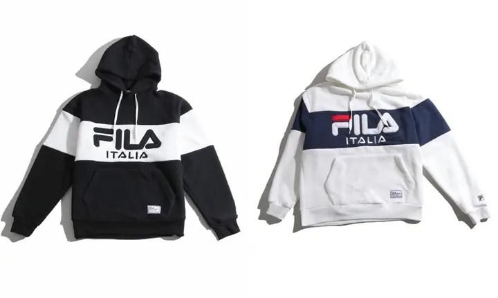 WEGO × FILA 別注 ロゴボアパーカーが12月上旬発売 (ウィゴー フィラ)