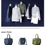 sacai × DSMG/PORTER コラボコレクションが11/18発売!17-18 F/Wコレクションも一部リリース (サカイ ポーター ドーバーストリートマーケット)