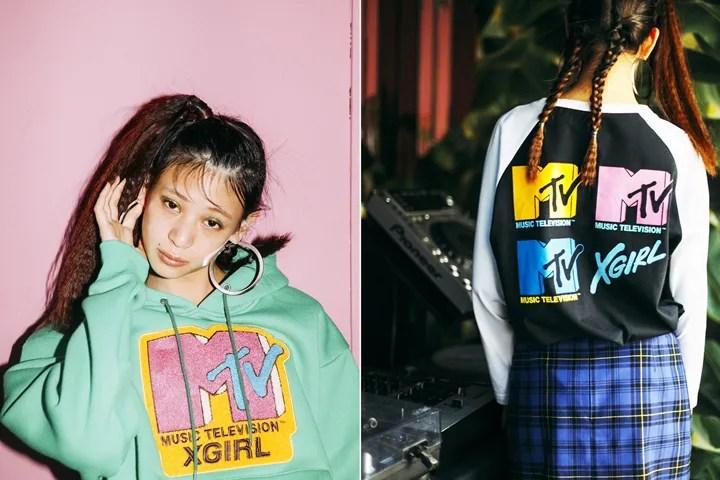 X-girl × MTV コラボレーションが11/24から発売 (エックスガール エムティービー)