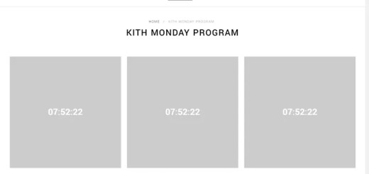 KITH MONDAY PROGRAM 第8弾が海外11/20発売予定! (キース)