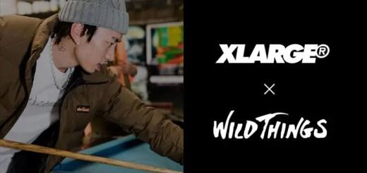 XLARGE × WILD THINGSとのコラボ新作が近日登場 (エクストララージ ワイルドシングス)