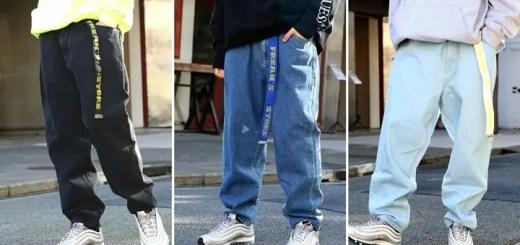 """90sストリートシーンを風靡した通称""""ゲスパン""""がweb限定復帰!GUESS × FREAK'S STORE DENIM PANTSが2018年2月上旬発売 (ゲス フリークスストア)"""