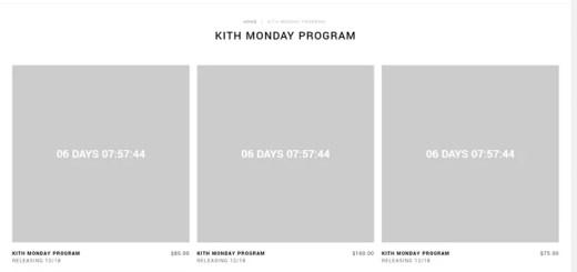 KITH MONDAY PROGRAM 第12弾が海外12/18発売予定! (キース)