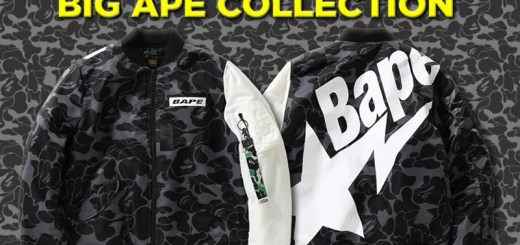 「BAPE STA」などのグラフィックデザインを大胆にプリントしたコレクション「A BATHING APE BIG MOTIF COLLECTION」の第2弾が12/16から発売 (ア ベイシング エイプ)