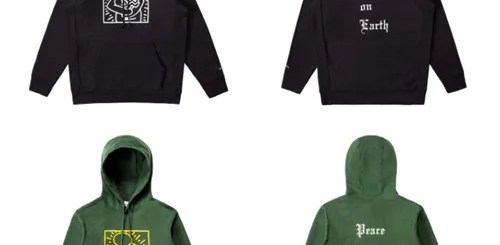 "NOAH x Keith Haring ""Peace On Earth Hoodie"" (ノア キース・ヘリング)"