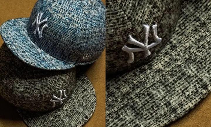 New Eraからファンシーヤーンと呼ばれる装飾効果を備えた糸によるツィード生地を採用したシリーズ「Fancy Tweed」が発売 (ニューエラ)