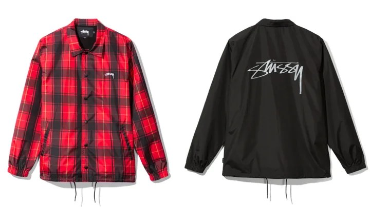 "STUSSY 2017 HOLIDAY ""Cruize Coach Jacket"" (ステューシー 2017年 ホリデー)"