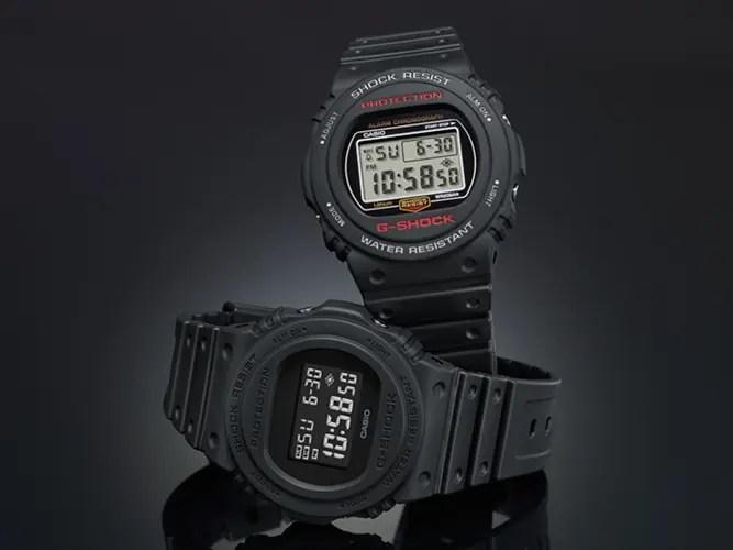 G-SHOCK生誕35周年記念!1987年に誕生したDW-5700Cが2018年1月に完全復活 (Gショック ジーショック)