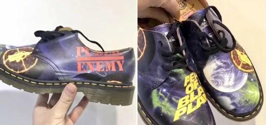 【リーク】Public Enemyのアルバムアートを落とし込んだSUPREME 2018 S/S x UNDERCOVER x Dr. Martensのショットが登場 (シュプリーム 2018年 春夏モデル アンダーカバー ドクターマーチン パブリック・エナミー)