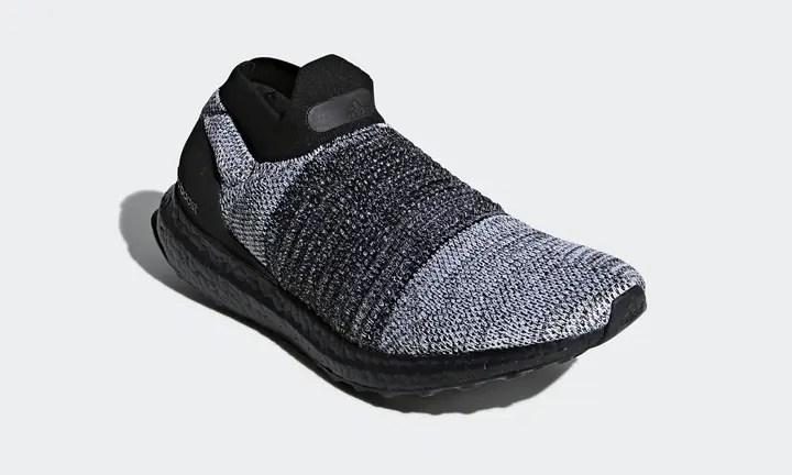 """アディダス ウルトラ ブースト レースレス """"コア ブラック/ホワイト"""" (adidas ULTRA BOOST LACELESS """"Core Black/White"""") [BB6137]"""