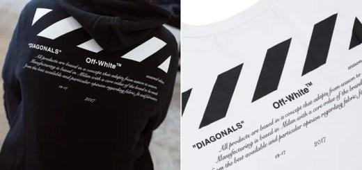 """低価格ラインのOFF-WHITE C/O VIRGIL ABLOH """"For All""""が1/9から発売 (オフホワイト """"フォー オール"""")"""