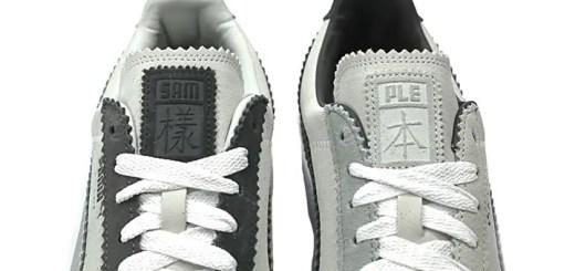 """1/20発売!Michael Lau x PUMA SUEDE CLASSIC """"SAMPLE SUEDE"""" White/Steel Grey (マイケル・ラウ プーマ スエード クラシック """"サンプル スエード"""" ホワイト/スティール グレー) [366313-01]"""