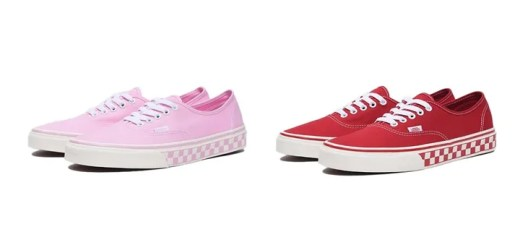 """VANS AUTHENTIC CHECKERBOARD 2018 S/S """"Red/Pink"""" (バンズ オーセンティック チェッカーボード 2018年 春夏 """"レッド/ピンク"""")"""