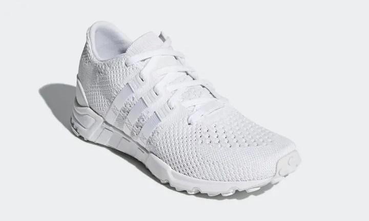 """アディダス オリジナルス エキップメント サポート RF プライムニット """"トリプル ホワイト"""" (adidas Originals EQT SUPPORT RF PRIMEKNIT {PK} """"Triple White"""") [CQ3044]"""