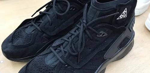 """COMME des GARCONS HOMME 2018-2019 A/W × NIKE ACG AIR MOWABB """"Black""""も登場 (コム デ ギャルソン オム ナイキ エーシージー エア モワブ)"""