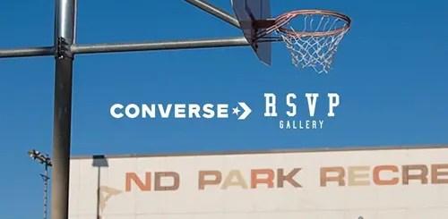 シカゴのショップ「RSVP Gallery」 × CONVERSE コラボが近日展開予定 (アールエスブイピー ギャラリー コンバース)