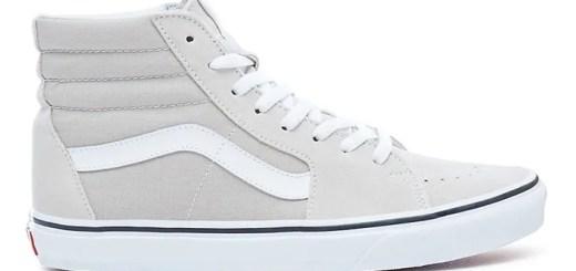 """VANS Sk8-Hi """"Silver Lining/True White"""" (バンズ スケートハイ """"シルバー ライニング/トゥルー ホワイト"""")"""