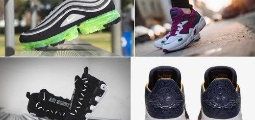 "【まとめ】3/9発売の厳選スニーカー!(NIKE AIR VAPORMAX 97 ""Black/Volt"")(AIR MORE MONEY ""Black/White"")(AIR JORDAN 32 XXX2 LOW PF)(ASICS TIGER GEL-DIABLO ""Baton Rouge"")他"