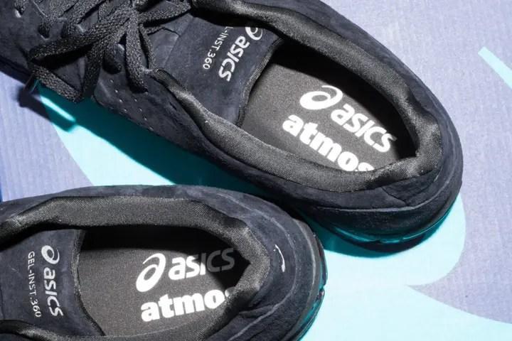 3/23発売!「atmos con Vol.4」にて24足限定リリースしたatmos × ASICS GEL-INST 360のカラバリ [T8G0K-9093]