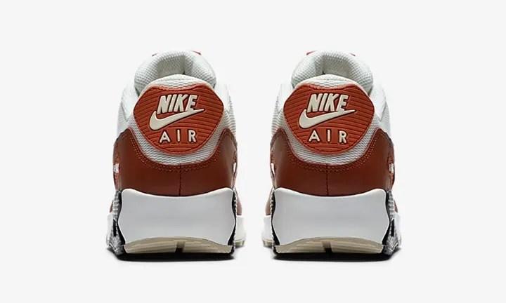 """ナイキ エア マックス 90 エッセンシャル """"ホワイト/ブラウン"""" (NIKE AIR MAX 90 ESSENTIAL """"White/Brown"""") [AJ1285-600]"""