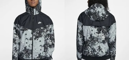 "NIKE WINDRUNNER ""Have A Nike Day-Wolf Grey/Black"" (ナイキ ウィンドランナー) [AQ0570-065]"
