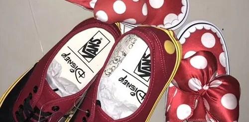 バンズ × ミッキー/ミニーのスタイルを表現したサンプルモデルが登場 (VANS Mickey Minnie)