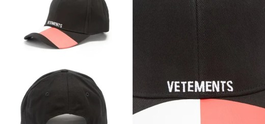 """VETEMENTS x TOMMY HILFIGER """"logo-embroidered cotton cap"""" (ヴェトモン トミー ヒルフィガー)"""