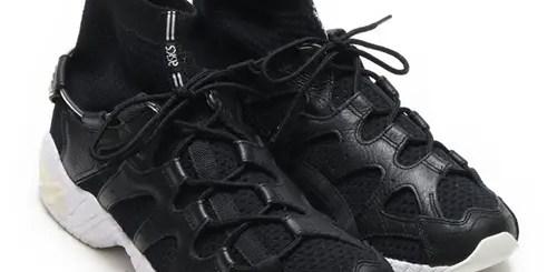 """5/4発売!ASICS TIGER GEL-MAI KNIT MT """"Black"""" (アシックス タイガー ゲル マイ ニット MT """"ブラック"""") [H8G4N-9090]"""