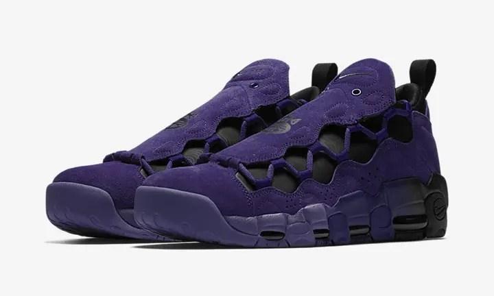 """【オフィシャルイメージ】4/20発売!ナイキ エア モア マネー """"コート パープル"""" (NIKE AIR MORE MONEY """"Court Purple"""") [AQ2177-500]"""